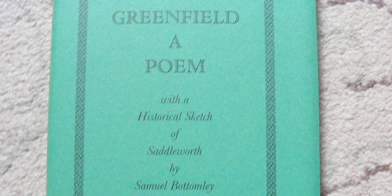 Greenfield: A Poem